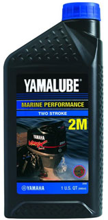 масло 1 литр Yamalube 2M Two Stroke Outboard