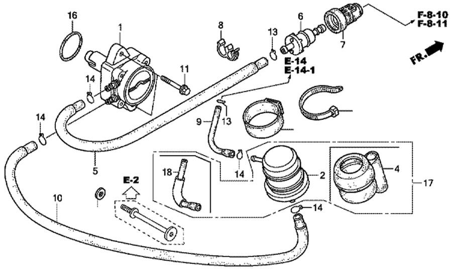 топливный насос honda BF15D3SHU Fuel Pump