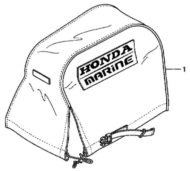 чехол лодочного мотора мотора Honda BF20