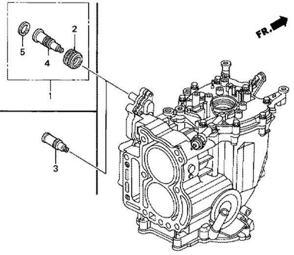 подвесной мотор лодочный Honda BF20D3 SHU комплект сочлинения водяного шланга