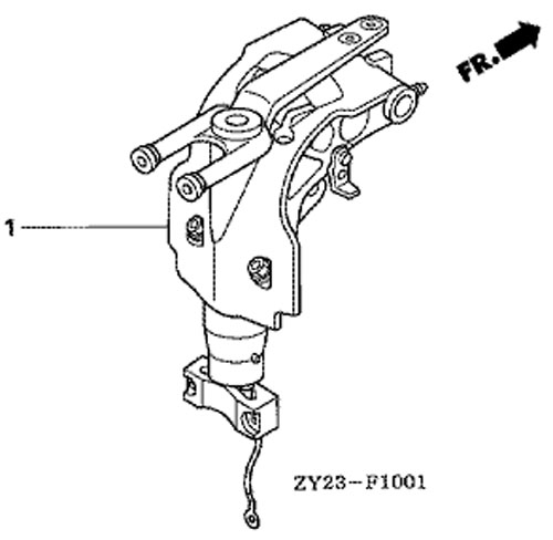 Лодочный мотор honda 10 запчасти