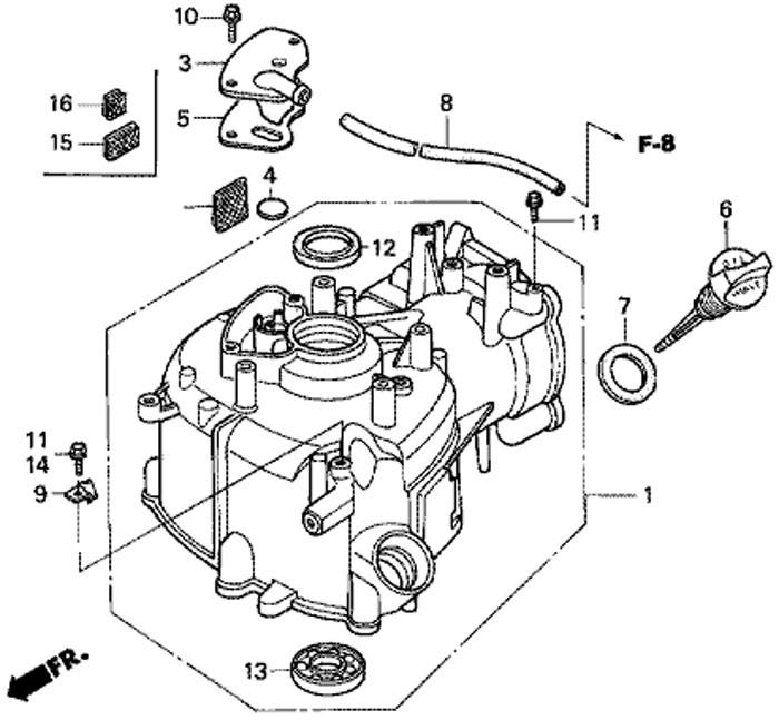гильза цилиндра двигателя honda BF5A4 SU