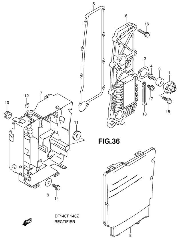 запчасти для лодочного мотора сузуки дф 140