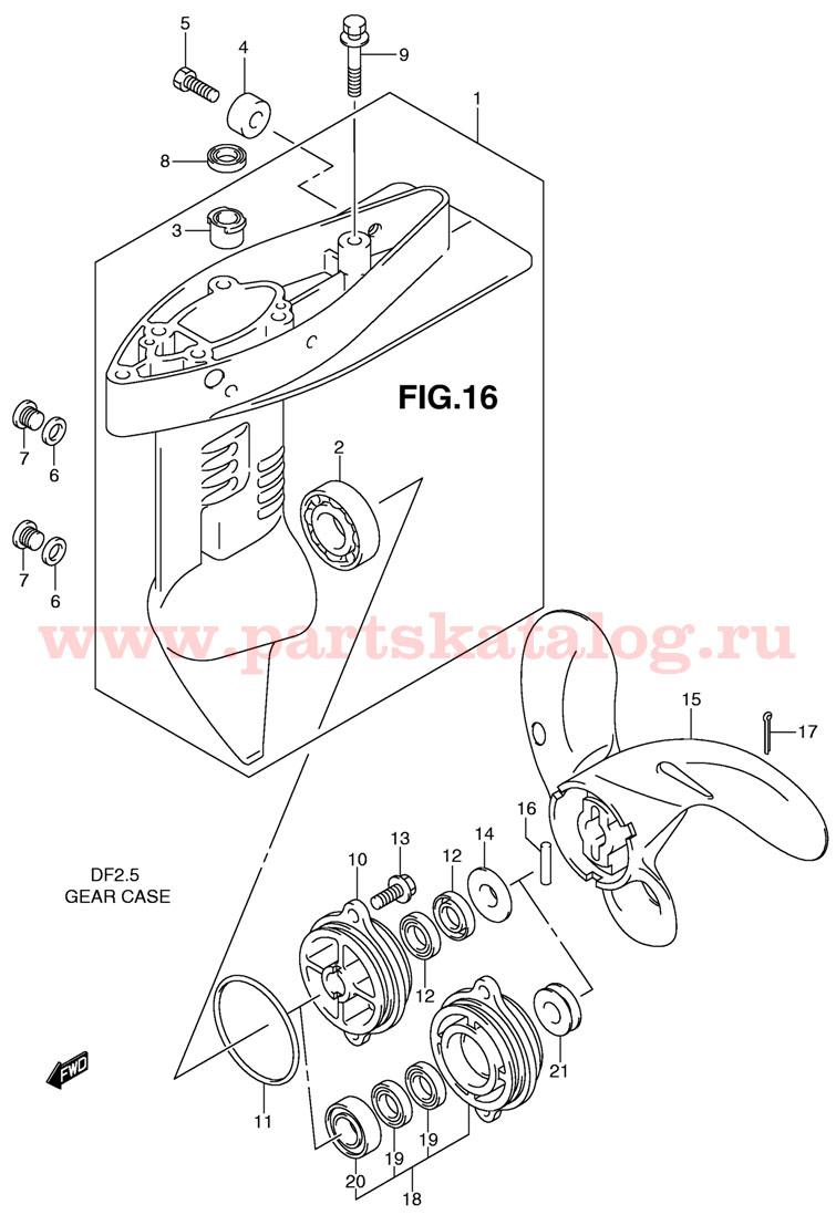 ремонт редуктора лодочного мотора судзуки 2.5 дф своими руками