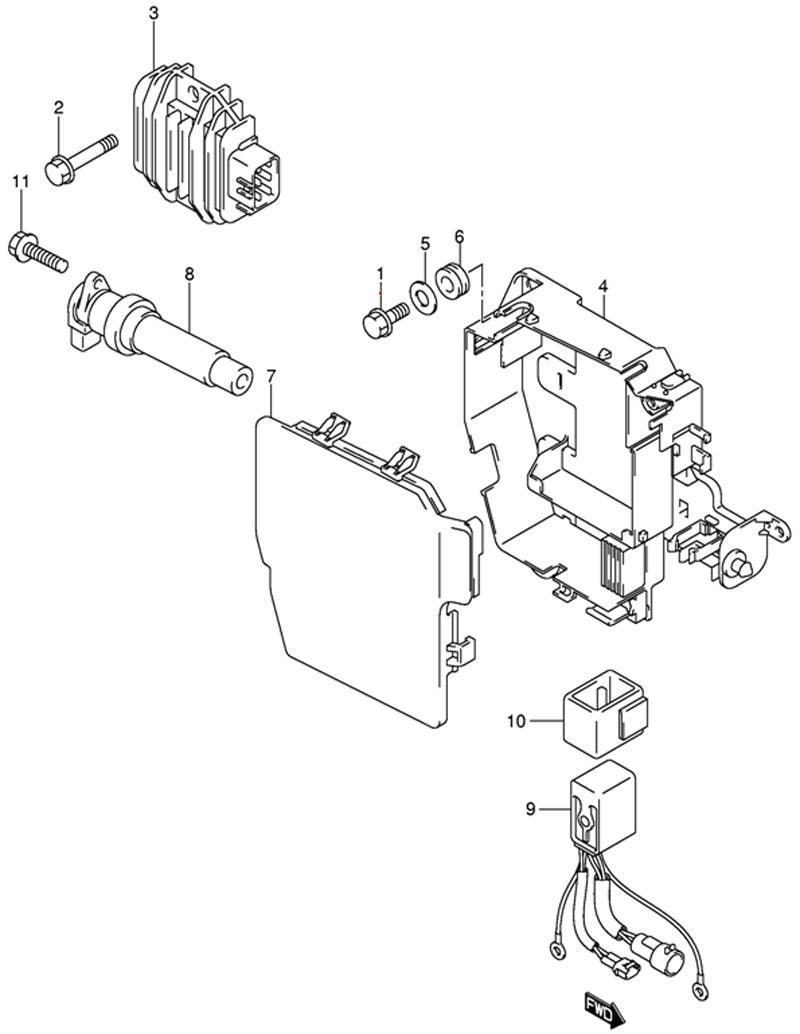 выпрямитель для лодочного мотора yamaha
