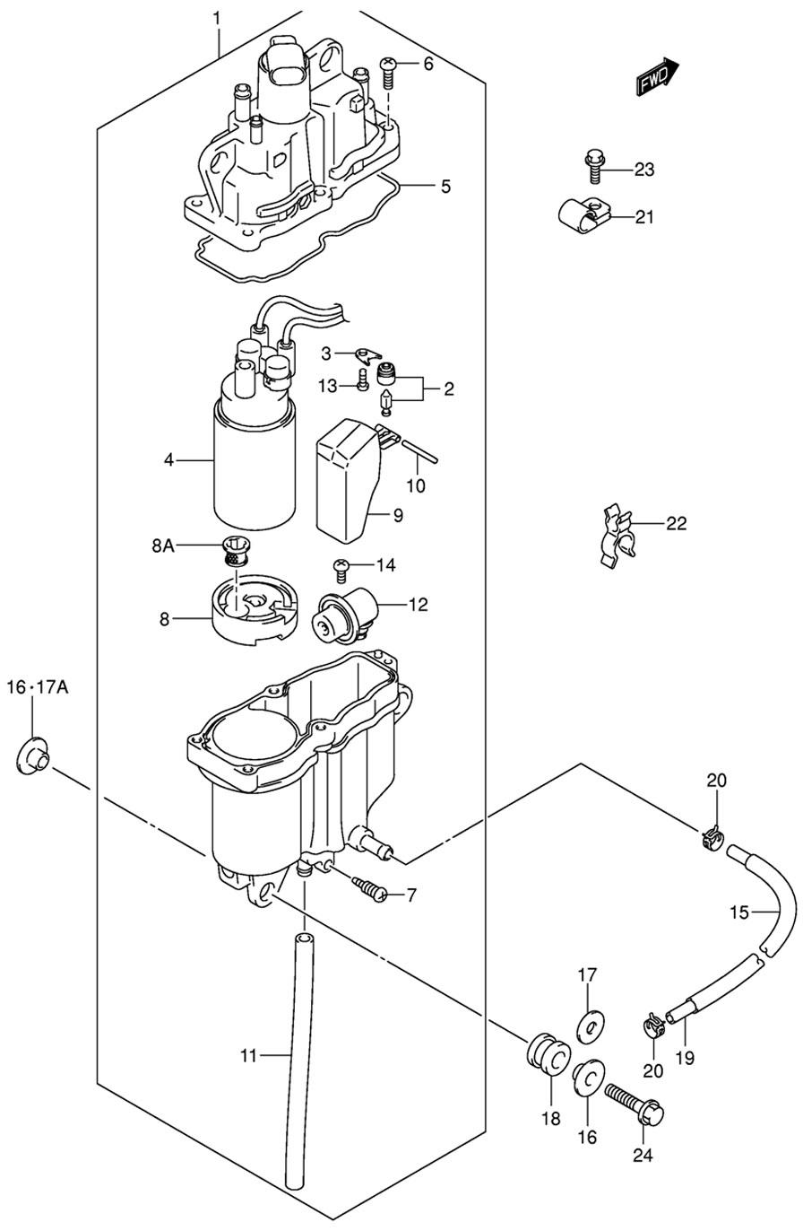 сепаратор на лодочном моторе