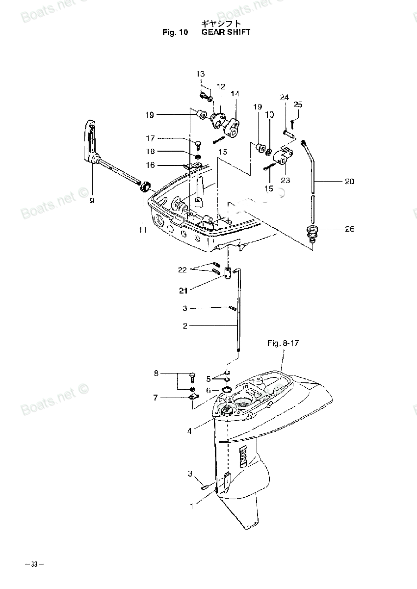 ремонт лодочного мотора тохатсу 18 своими руками видео