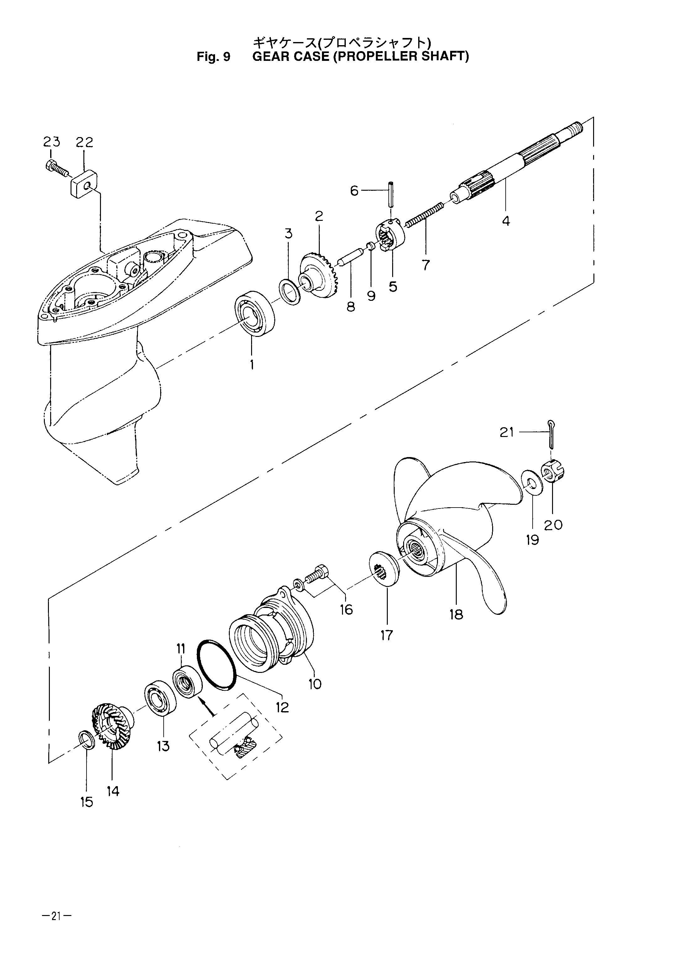 лодочный мотор не включается передача