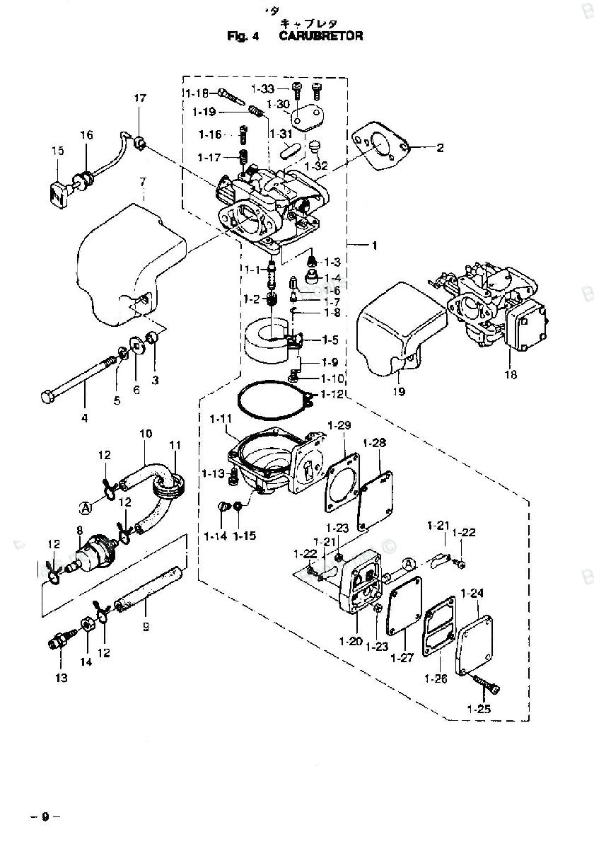 перелив карбюратора лодочного мотора