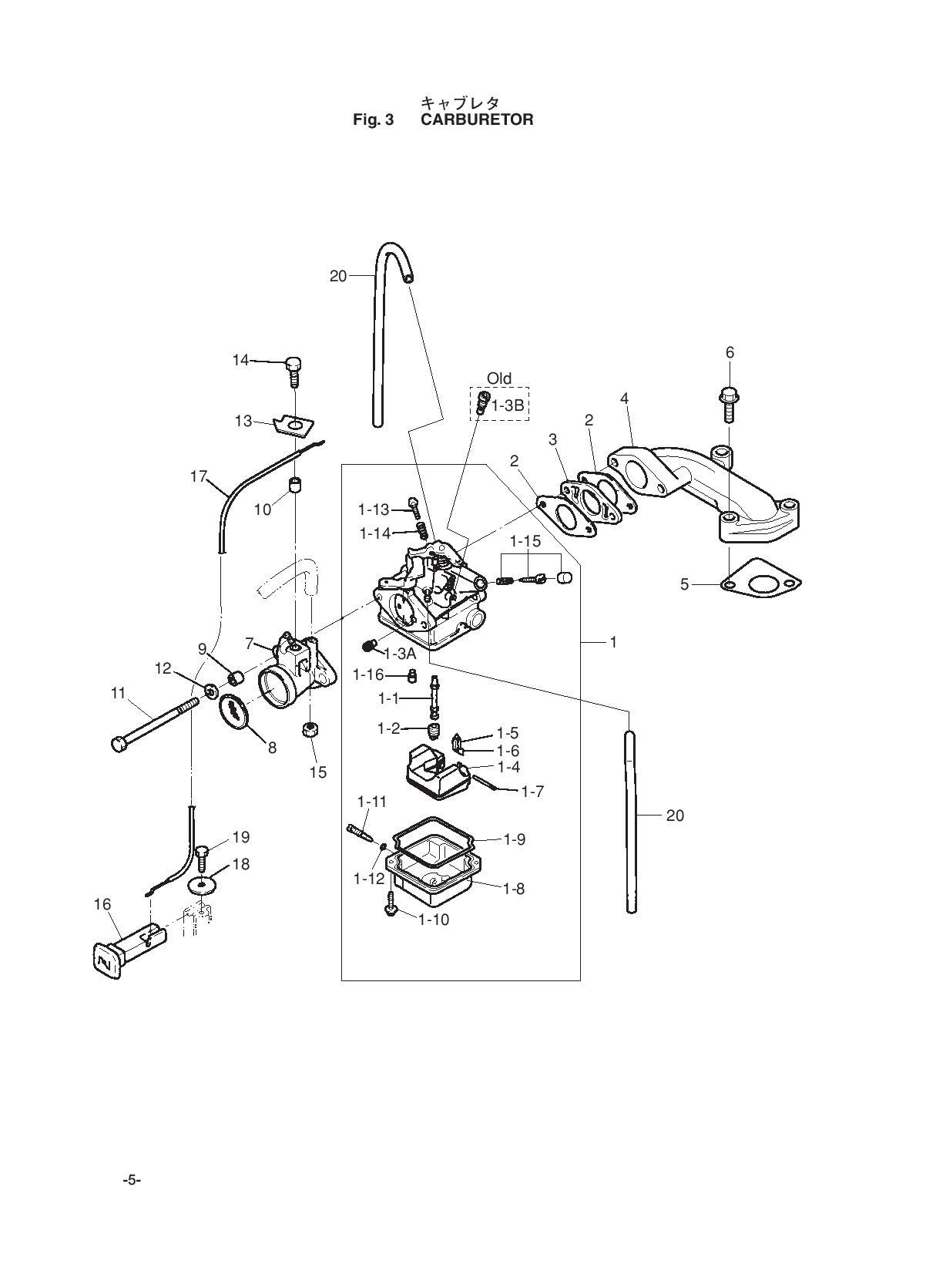 устройство карбюратора китайского лодочного мотора