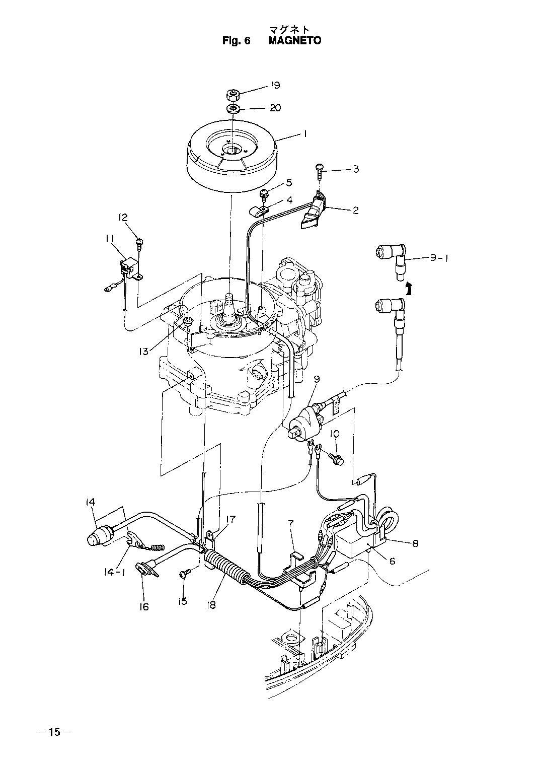 магнето лодочного мотора yamaha